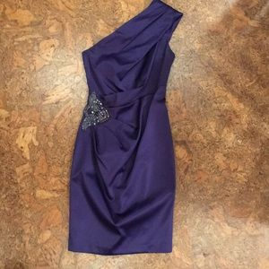 Eliza J one shoulder Evening dress.